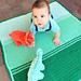 Baby Fade Blanket pattern