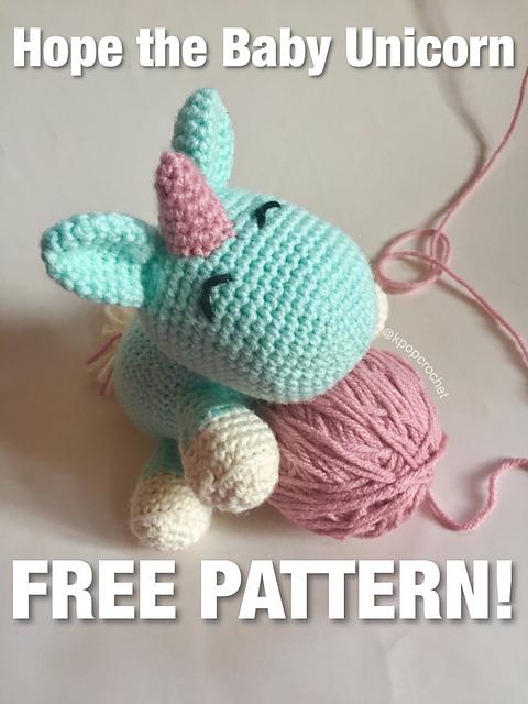 Unicorn Crochet Pattern Ideas You'll Love | The WHOot | 640x480