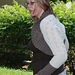 Dalloway Eyelet Shrug pattern