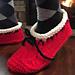 Santa's Hearthside Slippers pattern
