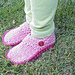 Options Slippers for Kids! pattern