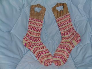 Sockotta Toe-Up Socks