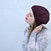 Arosa Slouchy Lace Hat pattern