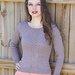 Locksley Sweater pattern