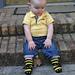 Baby Bee Socks pattern