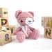Small sitting teddy bear pattern