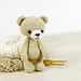 Small classic teddy bear pattern