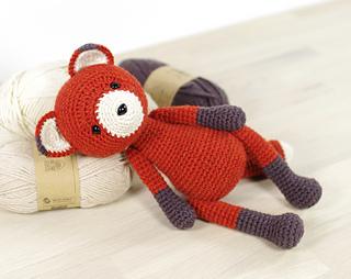50 Free Crochet Fox Patterns - Crochet Fox Hat ⋆ DIY Crafts | 254x320