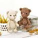 Small Jointed Teddy Bear pattern