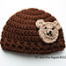 The Applique Bear Hat pattern