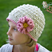 Kennedy's Ruffle Flower Hat pattern