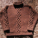 Man's Cabled Sweater pattern