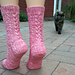 Pink Pony Socks pattern