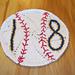 The Baseball Washcloth pattern