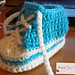 6-12 Months Crochet High Tops (converse) pattern