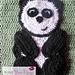 Panda Applique pattern