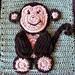 Monkey Applique pattern