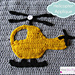 Helicopter Applique pattern