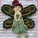 Earth Fairy Applique pattern