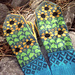 Sunflowers Mittens pattern