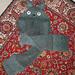 Totoro hooded scarf pattern