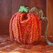 Pumpkin dress for apple pattern