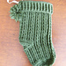 Cable Christmas Stocking pattern
