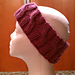 Quick Cross Headband pattern