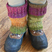 Easy Fitted Leg Warmers pattern