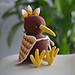 Kini the kiwi bird pattern