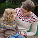 Flying Geese Sweater pattern