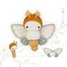 lalylala GOLDEN DAYDREAM MOTH butterfly pattern