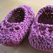 Baby Princess Shoe pattern