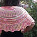 Summer Sunrise Shawl pattern