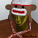 Sock Monkey Hat With Braids pattern