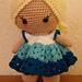 Weebee Doll - Pretty Shells Dress pattern
