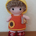 Weebee Doll - Sunny Summertime Outfit pattern