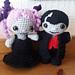 Little Weebee - Little Vampire Dolls pattern