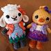 Little Weebee Doll - Spring Friends, Lou & Pip pattern