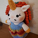 Weebee Doll - Dress Me Up Unicorn pattern