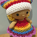 Weebee Doll - Rainbow Outfit pattern