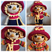 Weebee Luby Doll - Halloweebee Scarecrow Outfit pattern