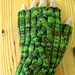 Twirly Cable Mitts pattern