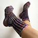 DK Toe Up Brioche Socks pattern
