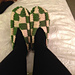 Checkered Slippers pattern