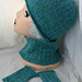 Snowbunny Hat, Cowl, & Mitts pattern