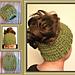 Gala Messy Bun Ponytail Hat pattern