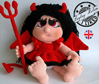 Crochet doll pattern, witch doll, doll with clothes | Dikiş ve Bebek | 170x200