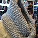 Close Knit Seed Stitch Cowl pattern