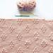 Diamond Berry Stitch Blanket pattern